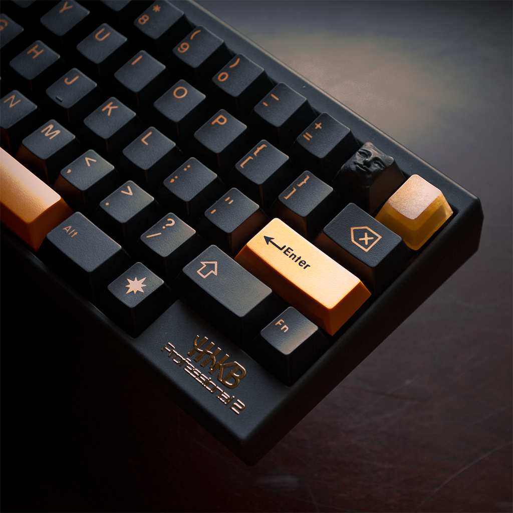Black and Gold HHKB